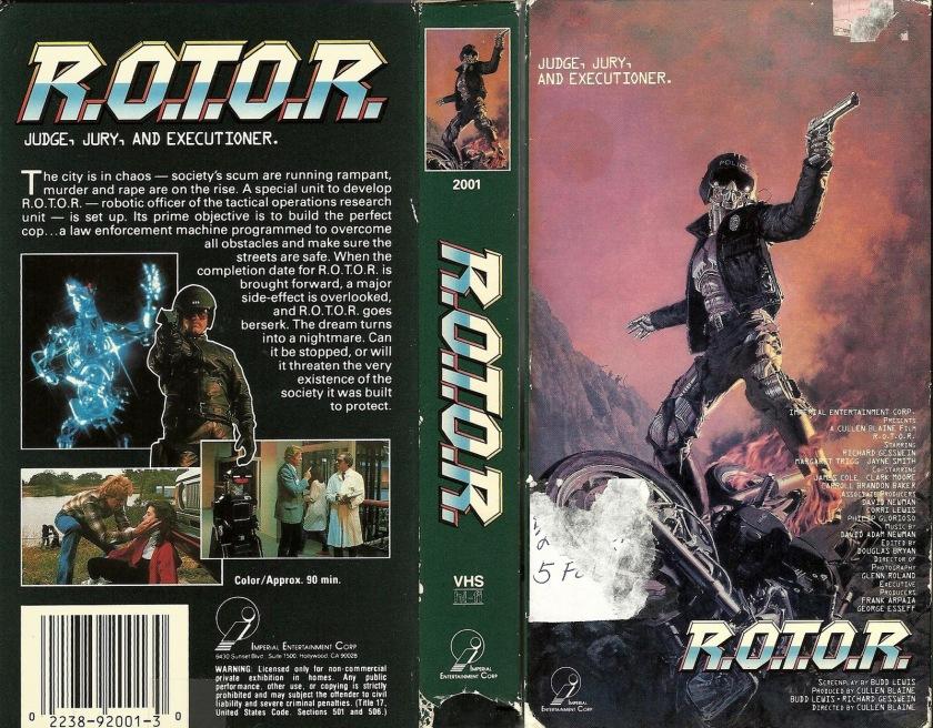 R.O.T.O.R.-1989-VHS-tape